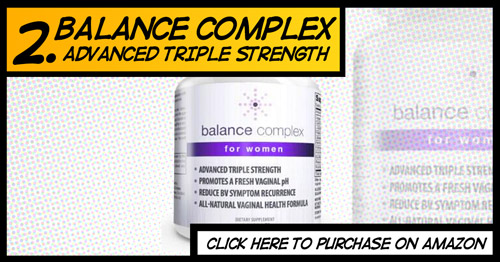 Cure thrush and balance pH levels with Balance Complex