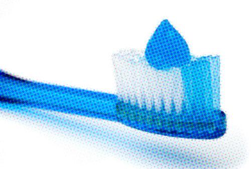 brush teeth to stop oral thrush