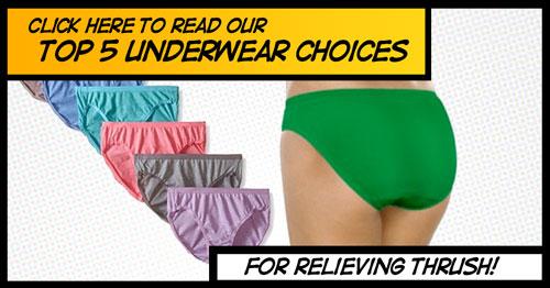 5 best underwear for women suffering from thrush