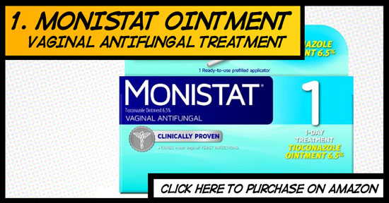 Monistat vaginal antifungal ointment cream with applicator review